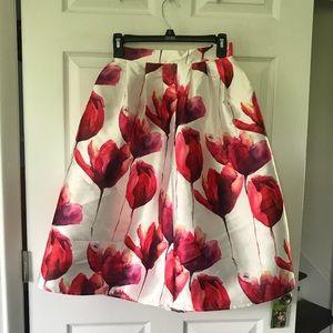 Lulu's Skirts - Floral full skirt